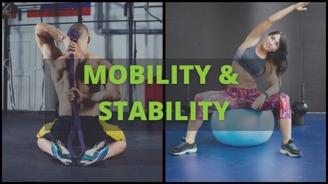 mobility and stability exercises