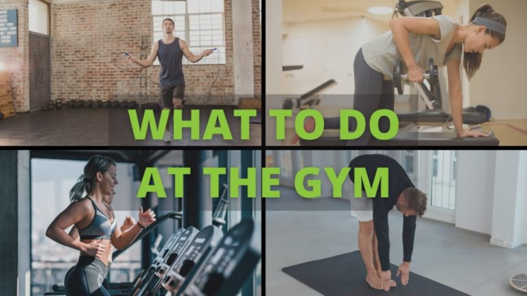 what to do at the gym