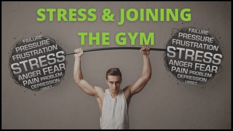 stress and joining a gym